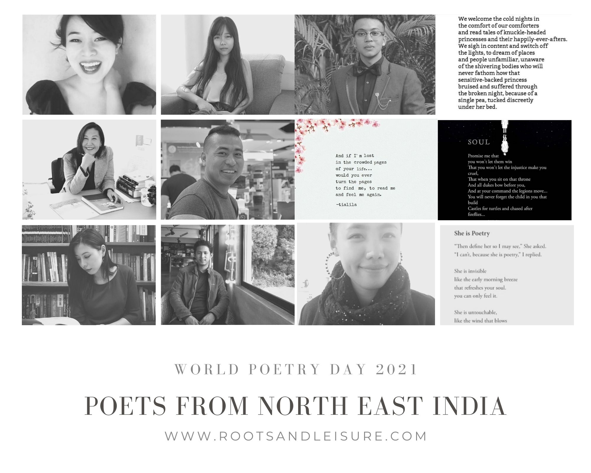 Rootsandleisure-Poets from North East India